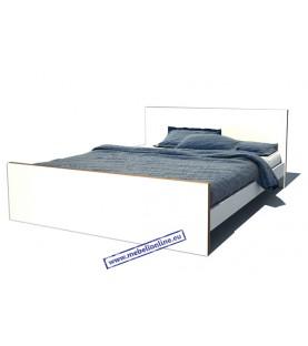 Легло, тип спалня в бяло