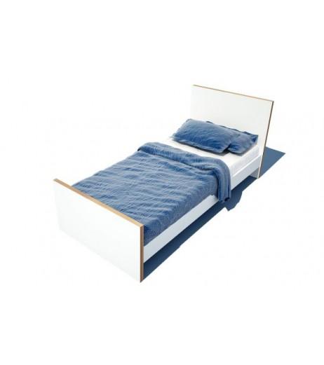 Единично легло в бяло