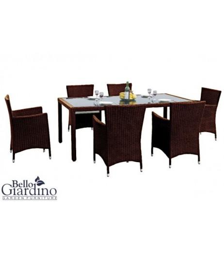 Комплект трапезни мебели CAPITALE