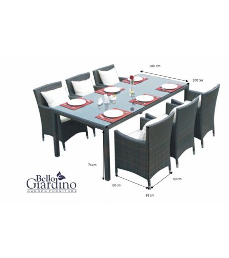 Комплект трапезни мебели GUSTOSO