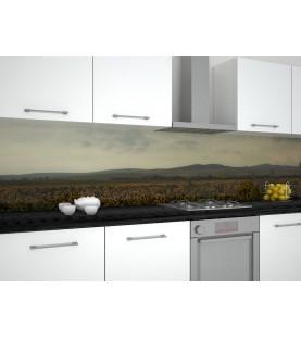 Стъклен гръб за кухня с принт L=150cm