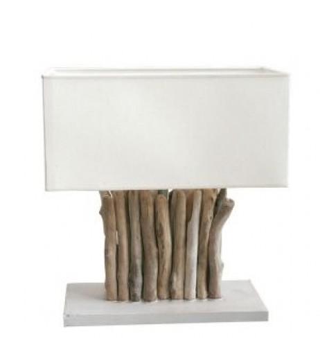 Настолна лампа с естествени клони
